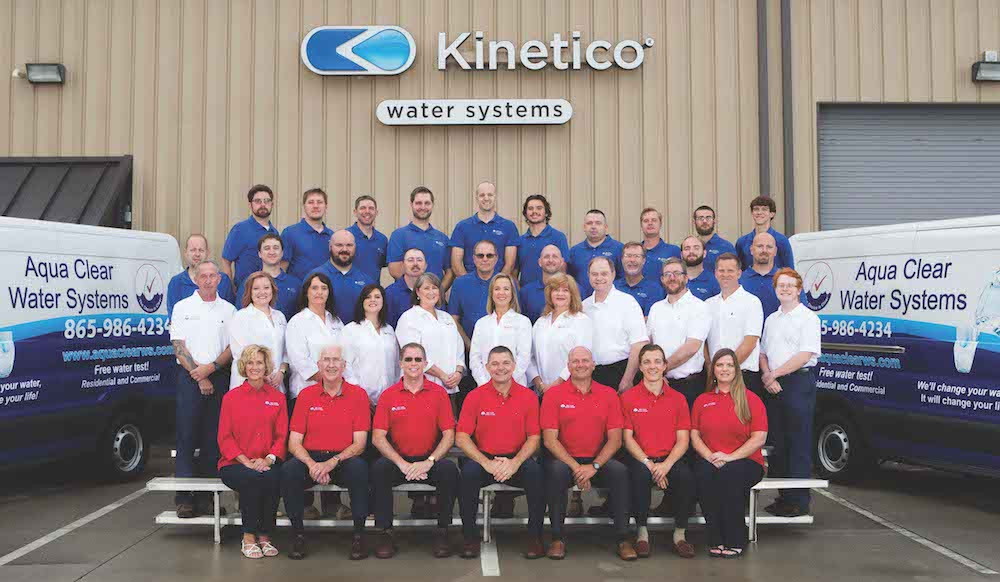 Aqua Clear Water Systems has grown to include 45 employees providing water treatment solutions to East Tennessee.