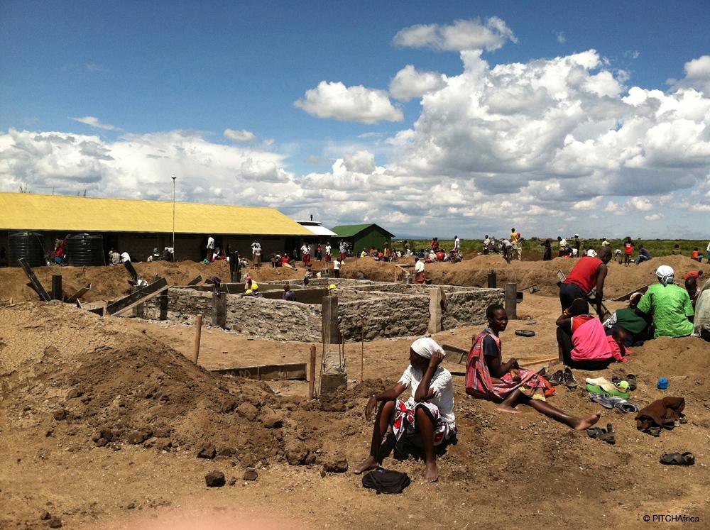 Public Outreach Rainwater Harvesting WATERBANK School PITCHAfrica