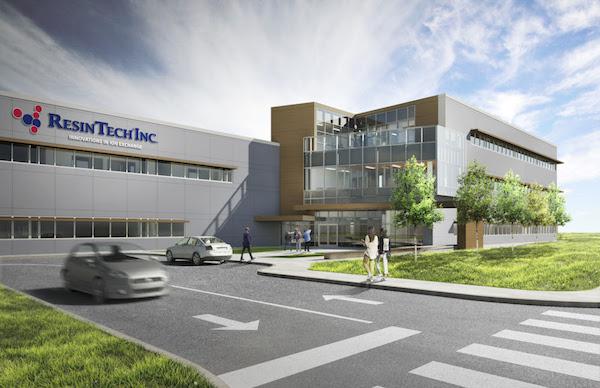 ResinTech breaks ground on New Jersey plant