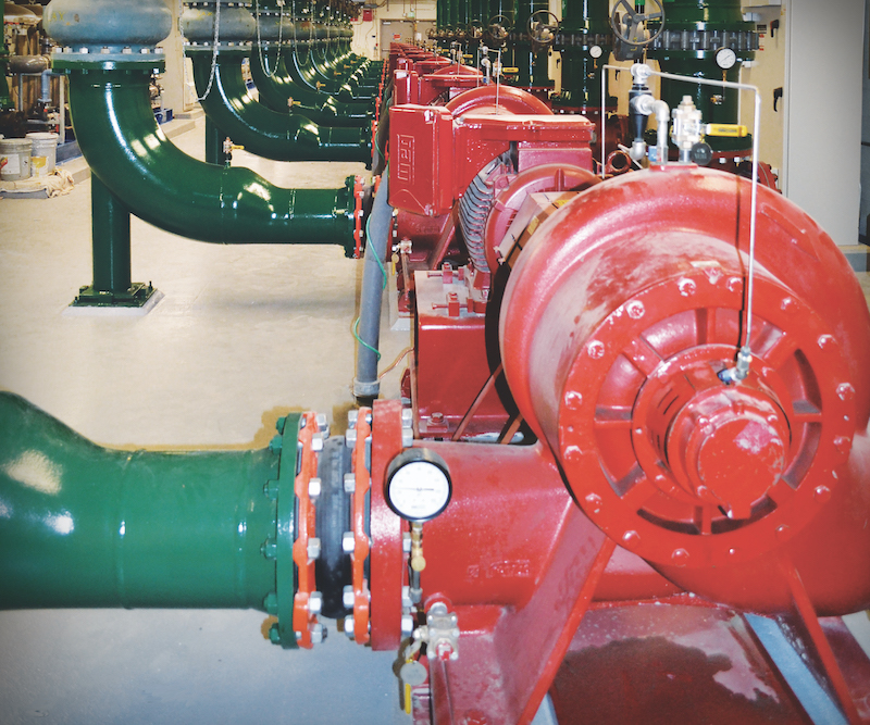 An efficiency comparison of VRF & hydronic systems