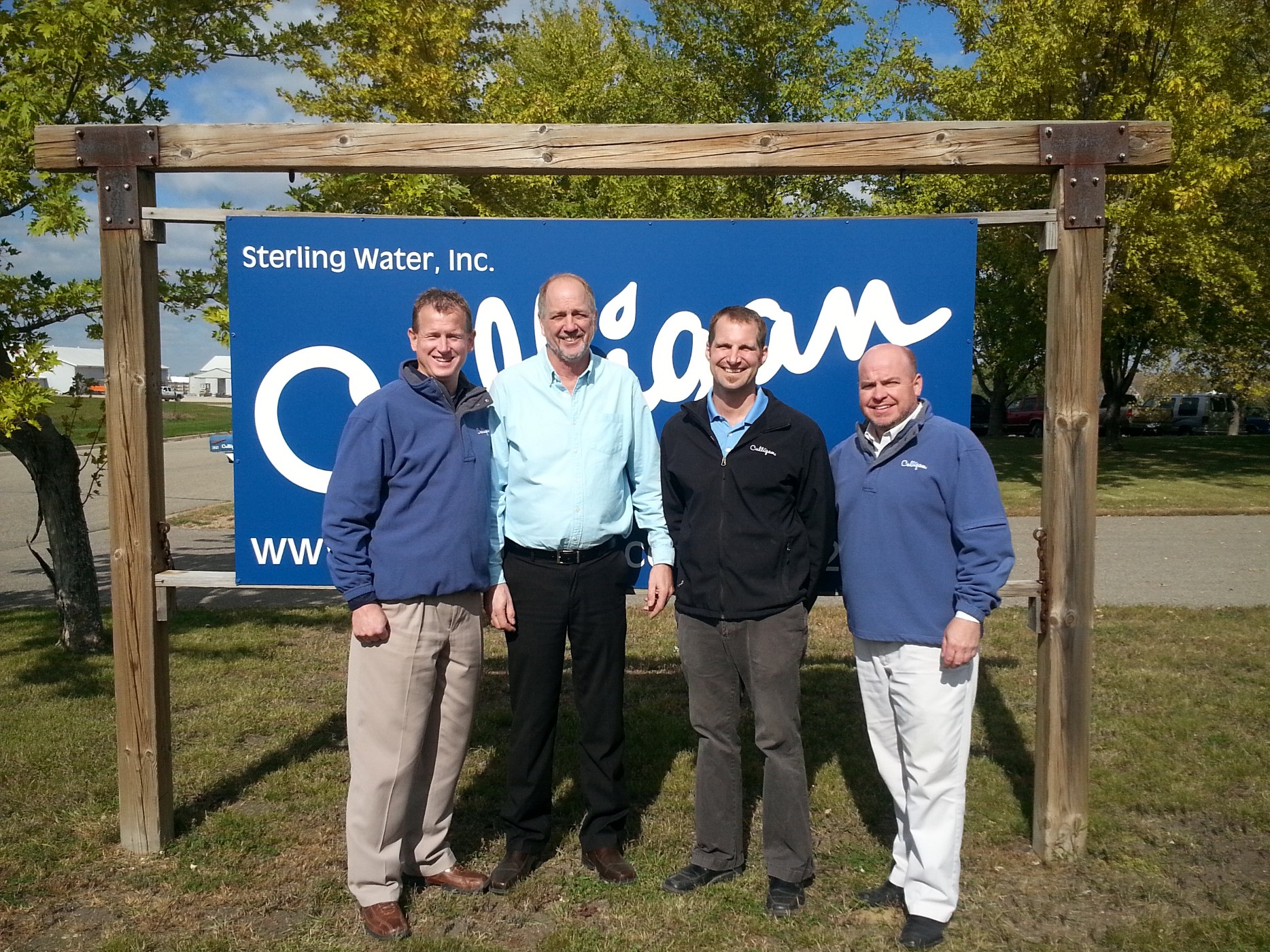 sterling water culligan general managers