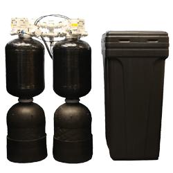 delta dechlorinator and softener