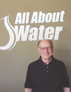Dave Crissman founded All About Water in 1974.