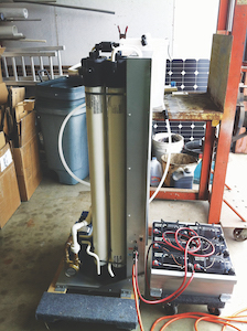 Designed in Texas, it became challenging to find replacement parts for the solar-powered reverse osmosis system in Kenya due to metric measurements when the  system began  to malfunction.