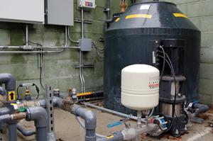 commercial water rainwater harvesting Pico Branch Library Virginia Avenue Park