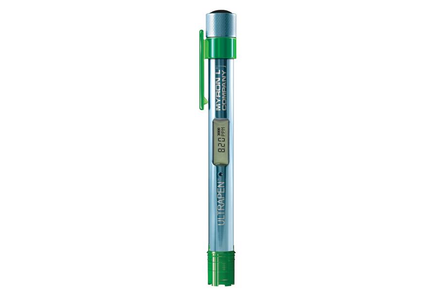 Testing Pen Measures Temperature & Dissolved Oxygen