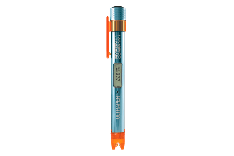 Pocket Tester Measures Free Chlorine, Temperature