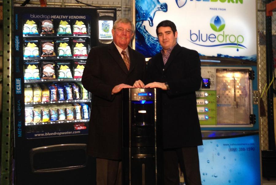 Bluedrop Water Mark Dickinson Brendan Dickinson Ice Water Vending
