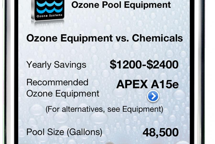 Clearwater Tech Ozone Purification Pool App