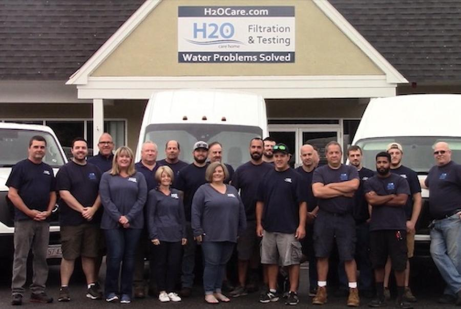 The H2O Care team develops custom solutions for New England customers.