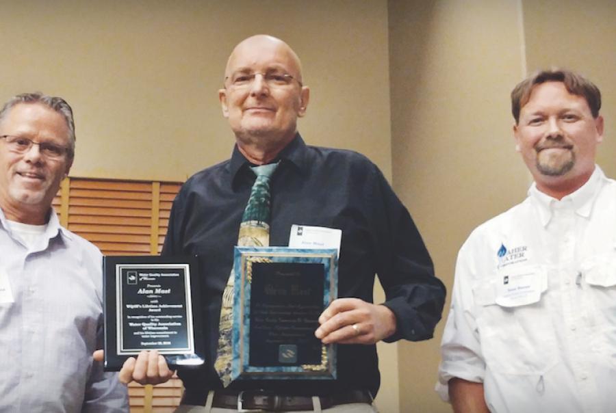 Mast Water Technology Lifetime Achievement Award