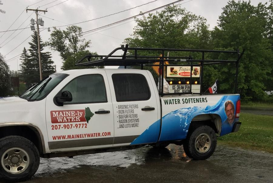 Mainely water uses branding and online feedback