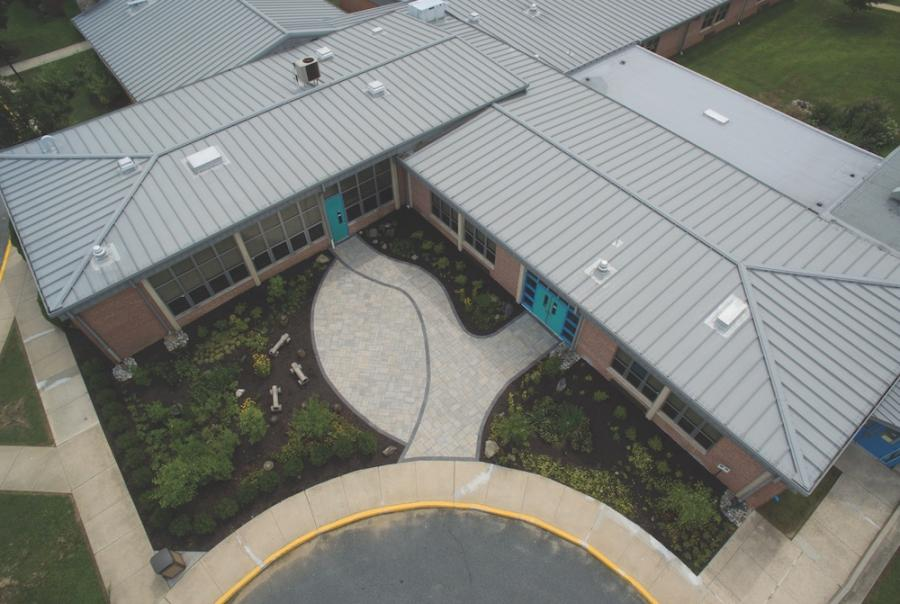 Maryland school uses storm water for irrigatioin