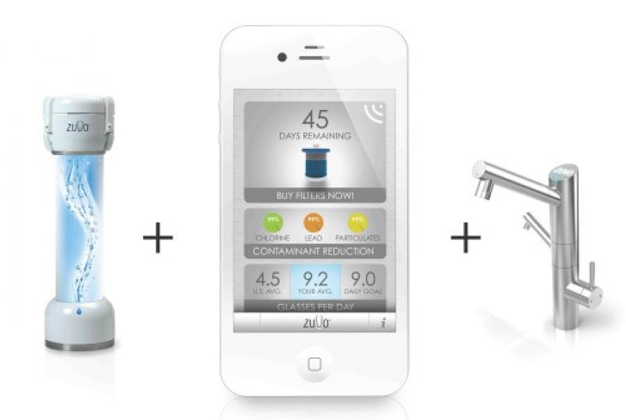 Zuvo Water Stratus Launch Indiegogo Faucet Filtration System