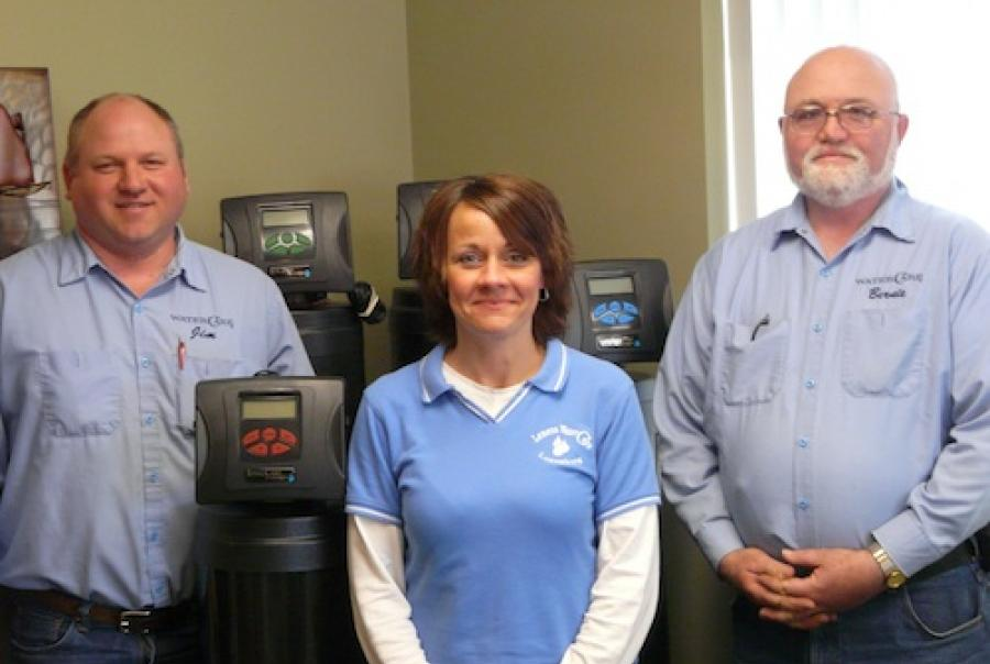 dealer of the month_lemens watercare_staff