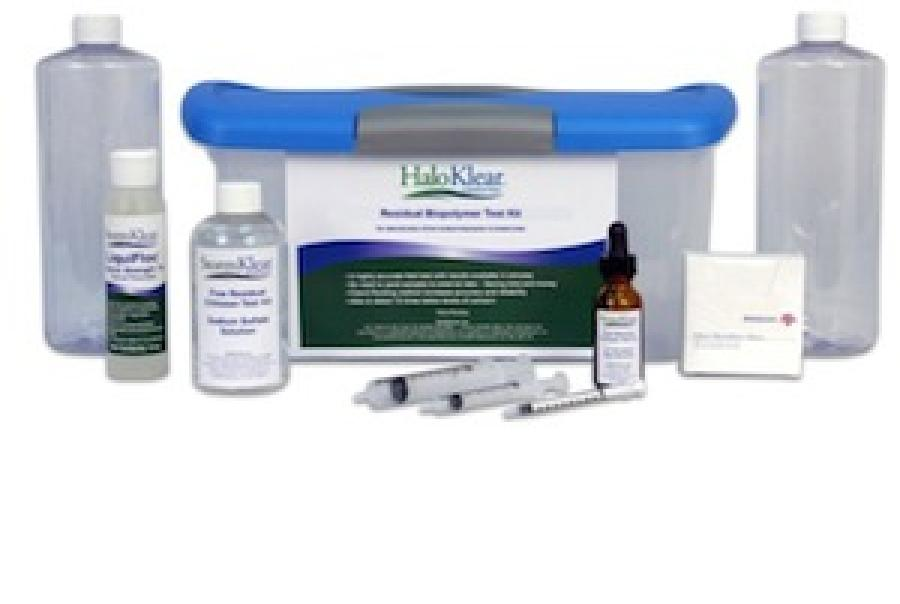 halosource haloklear biopolymer water testing kit