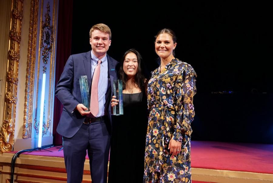Rachel Chang, Ryan Thorpe honored
