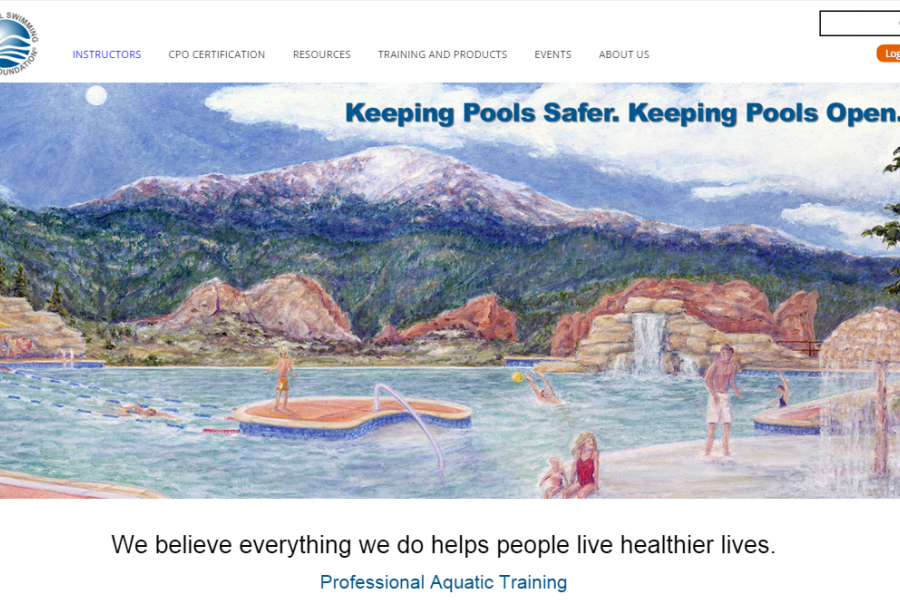 national swimming pool foundation website