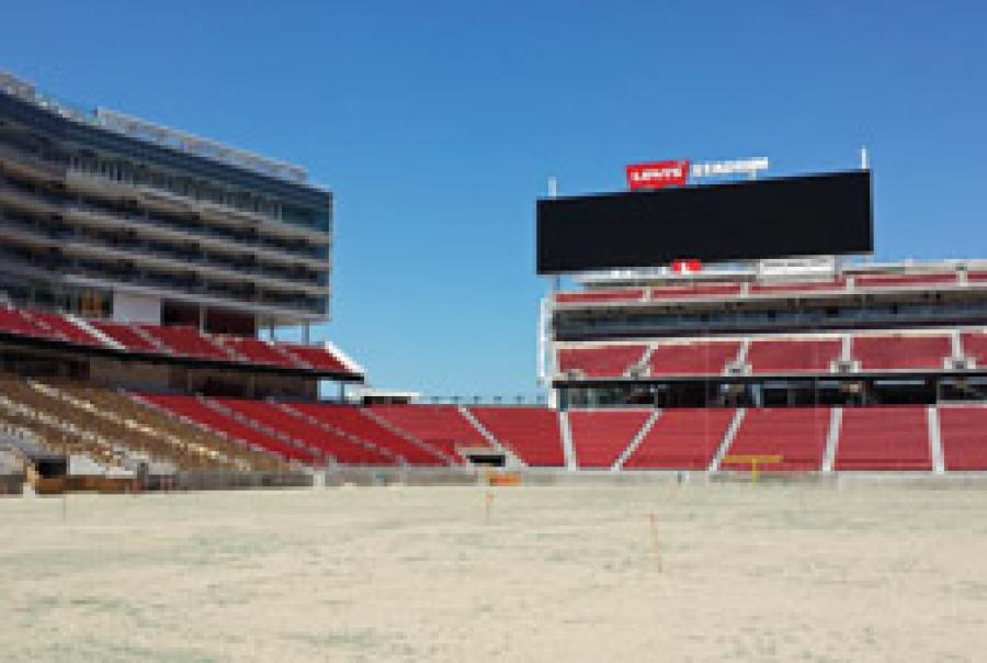 San Francisco 49ers stadium implements water reuse for flushing