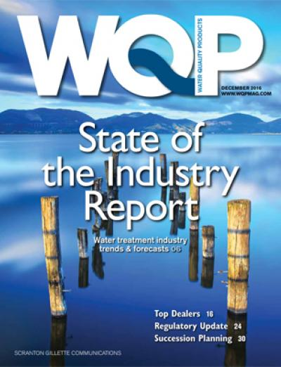 wqp, water quality, products, december, 2016, issue, state of the industry