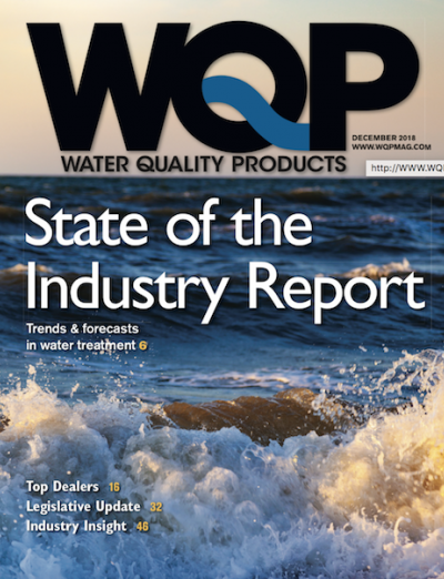 December 2018 issue of Water Quality Products magazine
