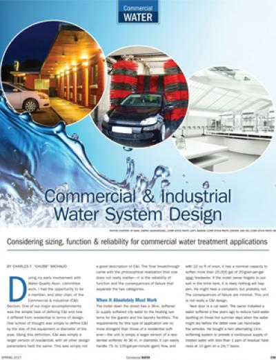 WQP Commercial Water Spring 2017