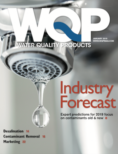 January 2019 issue of Water Quality Products magazine