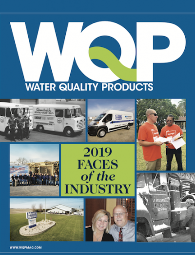 Faces of the Industry 2019 for Water Quality Products magazine