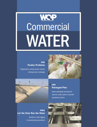 Commercial Water supplement of summer 2018 for Water Quality Products