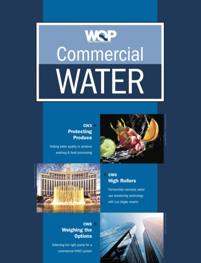 commercial water supplement spring 2019