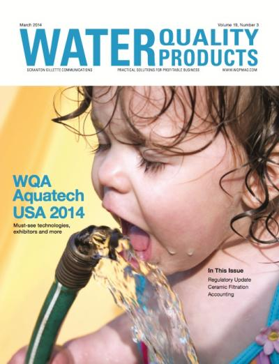 water quality products_march 2014