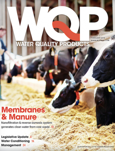 February 2019 issue of Water Quality Products magazine