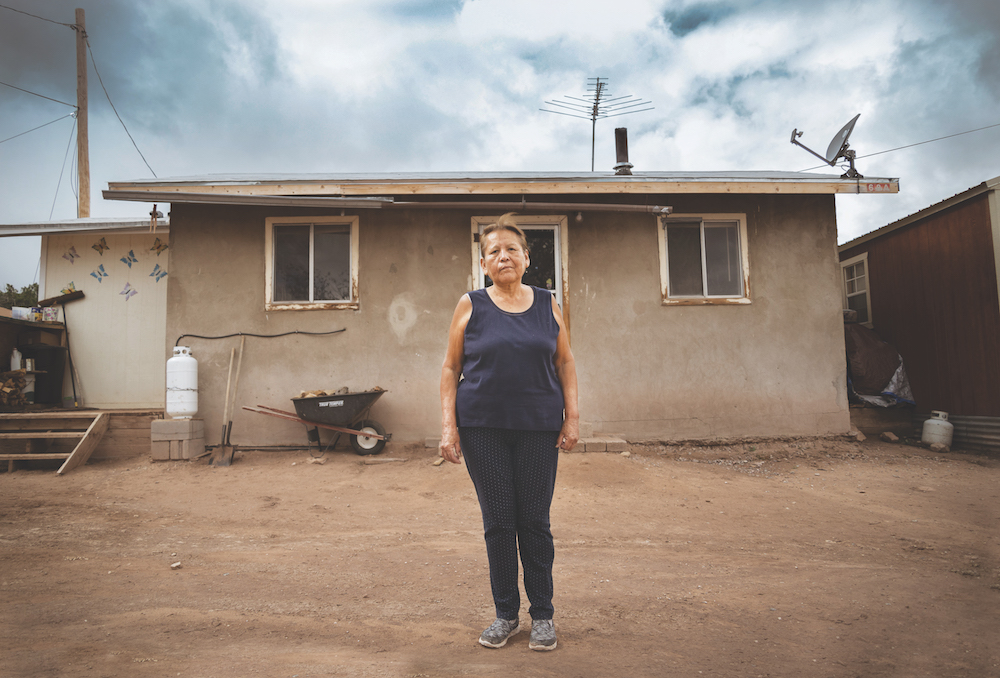 Plumbing challenge solves domestic water & sanitation issues in Native American community