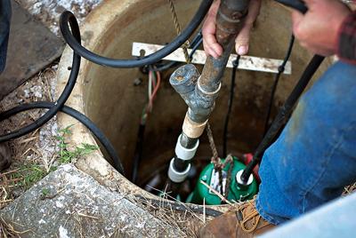 Pumps: Gas Station Grinder Pump Helps Save Money