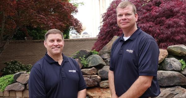 Senior Engineer Jeff Jones (left) and Engineering Manager Jason Wilson.