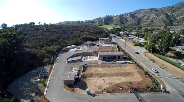 At the completed facility, Malibu's treated wastewater will be available to irrigate and green some of the city's most popular public spaces.