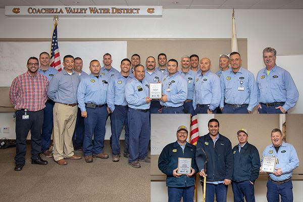 Coachella Valley Water District receives multiple awards