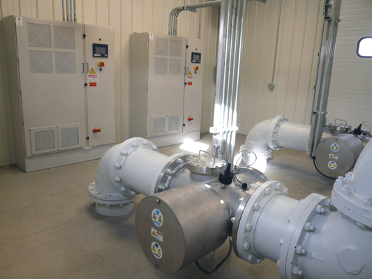 City Chooses Closed-Vessel UV for Chlorine Feed System Replacement