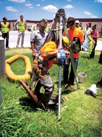 San Antonio Water System Hach flow monitoring