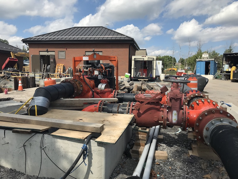 For projects where pumps are necessary to keep services running while another pump is out for repairs, rental pumps provide an opportunity to maintain service without a permanent purchase