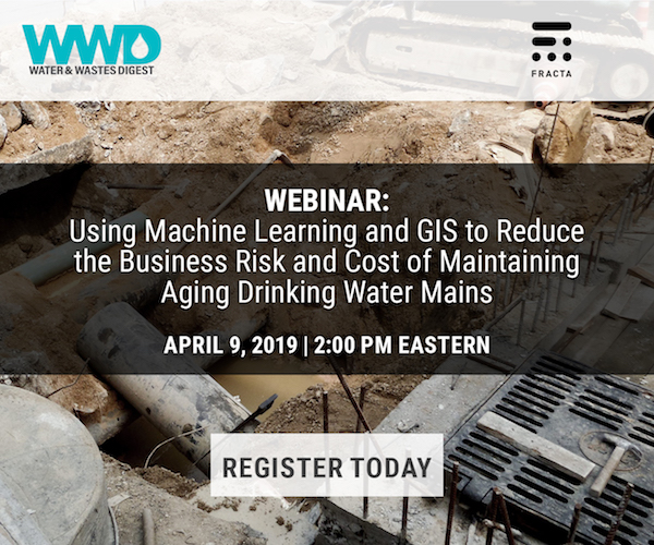 Using Machine Learning and GIS to Reduce the Business Risk and Cost of Maintaining Aging Drinking Water Mains