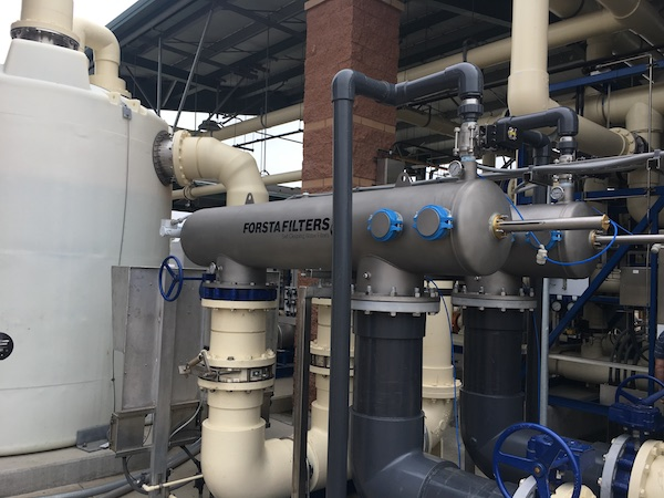 Ultrafiltration solves secondary effluent problem & restores recycled water system for non-potable reuse