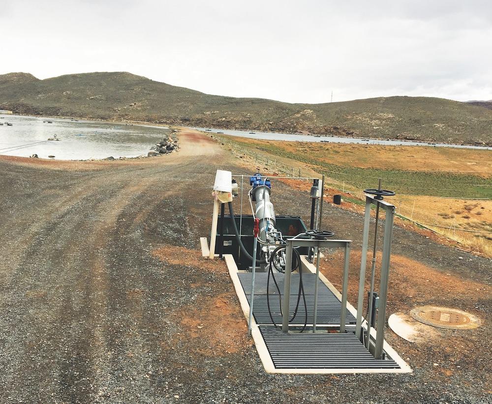 Screen improves aerator function at Utah facility