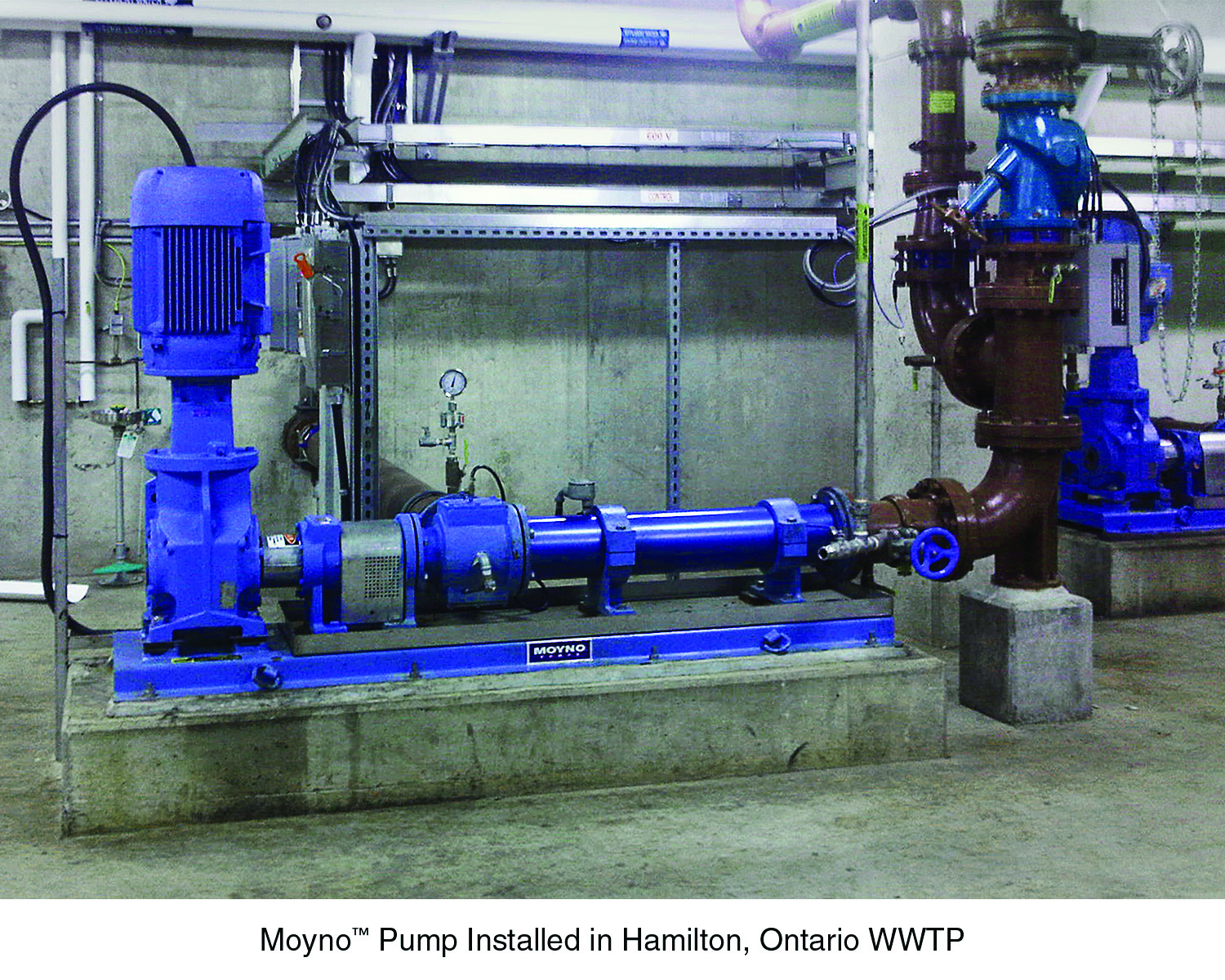 Hamilton Ontario Canada Waterwater Treatment Plants Moyno Urethan Stators