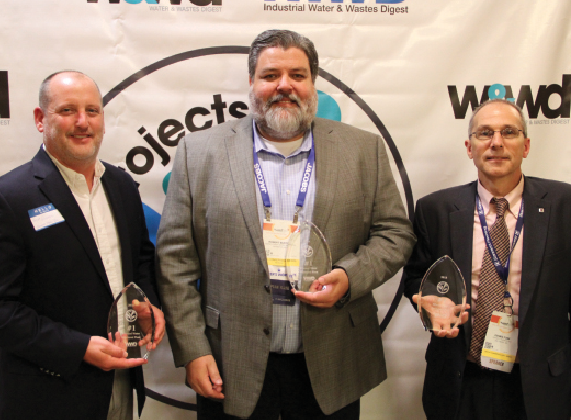 Winners of the #1 Top Project, the Ellwood Water Treatment Plant.