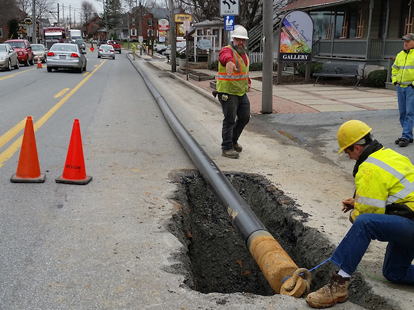 Miles of HDPE pipe bring potable water to Pennsylvania Amish communities