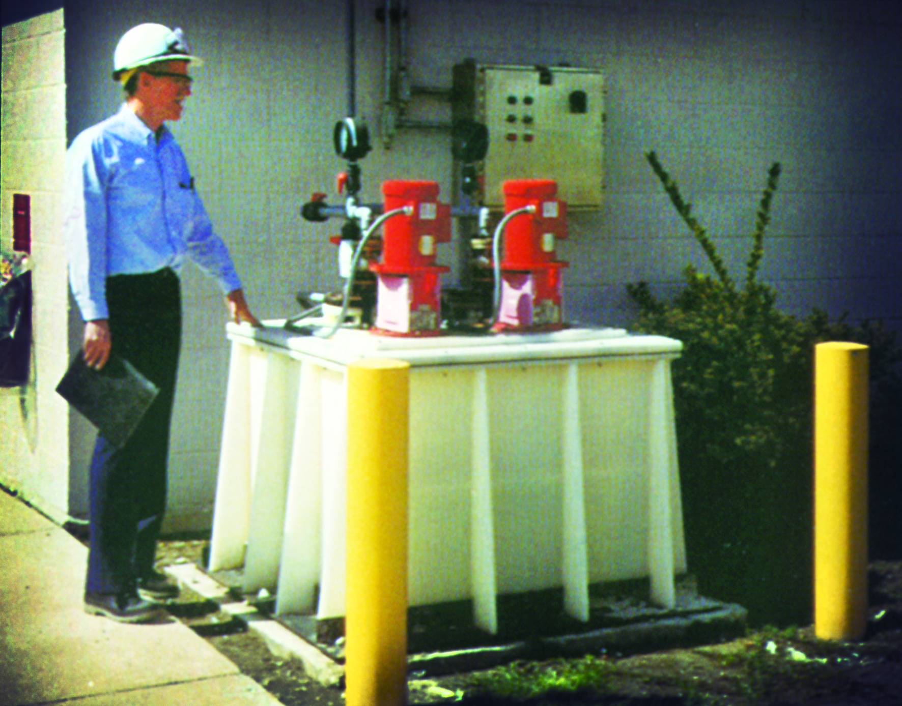 Disposal System Avoids Soil & Groundwater Contamination