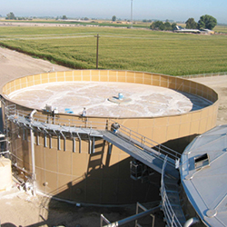 cst coated water storage tanks