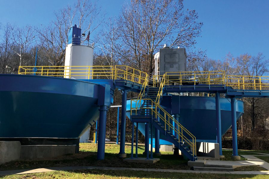 Illinois utility addresses water quality problems using versatile tanks