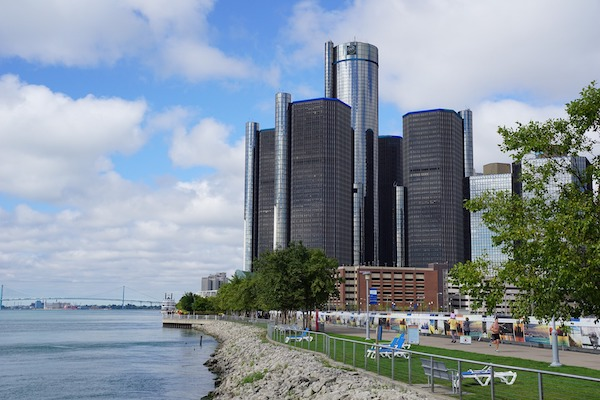 The water department in Detroit, Mich., is seeing fewer water customers at risk of shutoffs